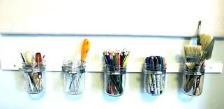 wall pencil organizer mount pen holder mounted acrylic colored wal wall mounted pen holders