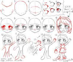 anime chibi drawing tutorial.  Drawing Chibi_Tutorial_by_manic_goose How To Draw Chibi 33 Drawing Tutorials In Anime Chibi Tutorial Design Your Way