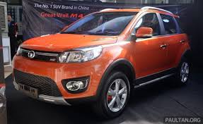 Great Wall M4 Suv Specs Revealed Rm45k Rm59k
