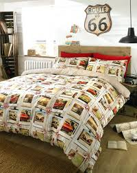 contemporary bed comforter sets contemporary bed quilt patterns contemporary vintage car campervan duvet cover quilt cover