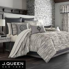 brandon comforter set silver