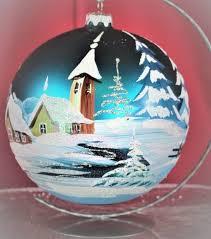 Weihnachtsbaumkugeln Aus Glas Bei Lauscha Mundgeblasen