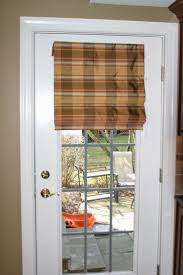Fabric Shades for French Doors