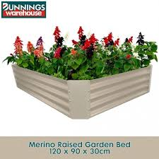 120 x 90 x 30cm merino raised garden bed
