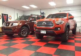 2016 Toyota Tacoma TRD Off-Road 4x4 vs. Nissan Frontier PRO-4X: By ...