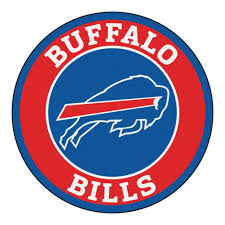 fanmats nfl buffalo bills red 2 ft round area rug