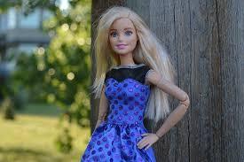 barbie doll pretty blonde toy