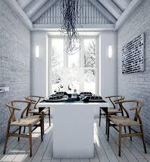 modern loft furniture. Modern Loft With Minimalist Style In A White Furniture N