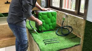 auto retractable garden hose reel