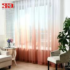 sheer white bedroom curtains. Sheer Bedroom Curtains Gradient Color Window Tulle For Living Room Girls Children Voile Veil White