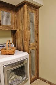 reclaimed wood cabinet doors. Rustic Tall Storage- Reclaimed Barn Wood Cabinet W/Tin Doors (Unfinished)