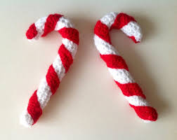 Large Candy Cane Decorations Crochet Candy Cane Christmas Decoration Giant How To Decorations 31