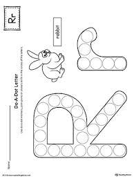 Custom Letter Art Template Magnificent Uppercase Letter R Template Printable MyTeachingStation