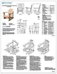 Adirondack Rocking Chair Plans Beautiful Adirondack Rocking Chair