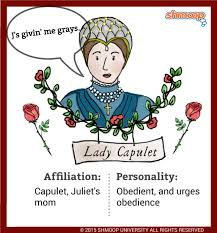 lady capulet in romeo and juliet character analysis