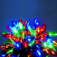 outdoor fairy lighting. 12m outdoor c6 christmas fairy lights multi colour leds lighting