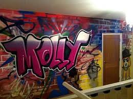 like the more than color sade but no pink use the color blue with white on bedroom wall graffiti artist with like the more than color sade but no pink use the color blue with