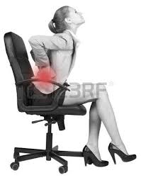 Desk Chair For Back Pain Office Businesswoman Inside Design Inspiration