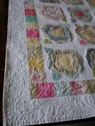 French Rose Quilt - good display of exceptional machine quilting ... & French Rose Quilt - good display of exceptional machine quilting by  brenda1967 Adamdwight.com