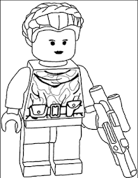 Small Picture lego star wars coloring pages to print LineArt Star Wars
