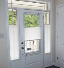 front door blinds. Delighful Blinds Pleated Shades Are An Economical Yet Highly Functional Window Covering  Solution For Door Glass And Side In Front Door Blinds T