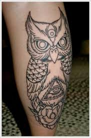 tattoo designs for men with meaning. Beautiful Men Interesting Owl Leg Tattoo For Guys Intended Tattoo Designs For Men With Meaning O