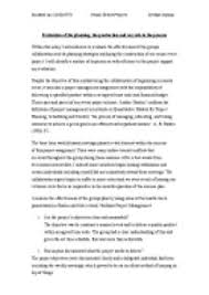 essay onmy experience ofmanaging a music event management  page 1 zoom in