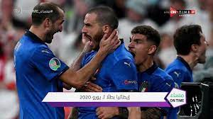 مساء ONTime - مقدمة مدحت شلبي عن فوز ايطاليا على انجلترا بـ ركلات الترجيح  والتتويج باليورو 2020 - YouTube