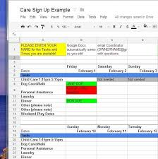 Sign Up Sheet Template Google Docs How To Use Google Docs For Online Sign Up Sheets