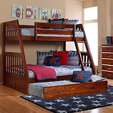 Amazon Discovery World Furniture Merlot Mission Bunk Bed Twin