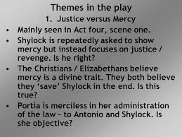 the merchant of venice revision notes ppt video online 2 themes