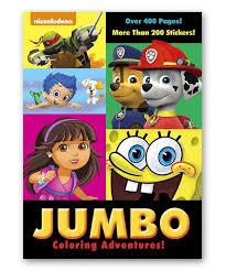 Loving This Nickelodeon Jumbo Coloring Adventures Coloring Book