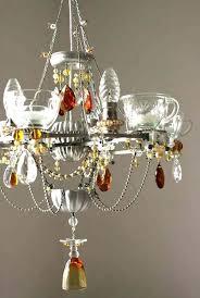 teacup chandelier diy teacup chandelier idea for a dining room chandeliers at home depot