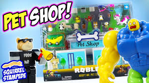 Roblox Adopt Me Pet Store Play Set Review Jazwares Youtube