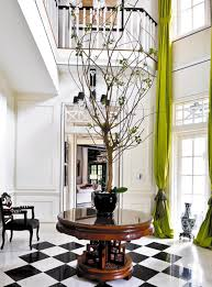 fresh round foyer tables contemporary 10