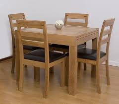 ravishing wooden chairs plus black seat also square extendable dining table in brown