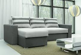 Furniture : Minimalist Fabric Leather Sofa Bed Double Sofa Bed ...