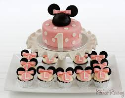 Minnie Mouse Cake And Cupcakes Kitchen Runway
