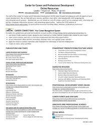Resume Preparation Online Quicklinks To Online Career Resources