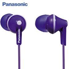 <b>Panasonic RP HJE125E</b> V In <b>ear earphone</b> wired, <b>headset</b> fone.-in ...