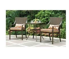 Amazoncom  Mainstays Alexandra 3piece Bistro Outdoor Patio Three Piece Outdoor Furniture