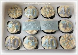 40th Birthday Cupcake Ideas For Him The Blouse