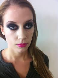 Fetish heavy make up woman