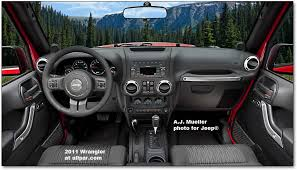 the iconic 2011 2017 jeep wrangler and wrangler unlimited old revised interior production of the 2011 jeep wrangler