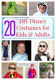 20 diy disney costumes for kids and s by premeditated leftovers foodblogs