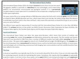 Reading Comprehension Worksheets - Space Exploration ...