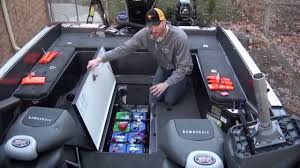 hooking up batteries in your fishing boat youtube marine dual battery switch wiring diagram at Wiring 2 Batteries In A Boat