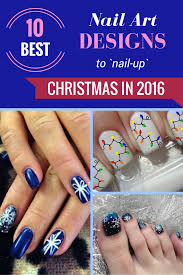 10 Best Nail Art Designs To Nail-Up Christmas In 2016 - ZoomZee.org