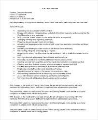 personal assistant job description