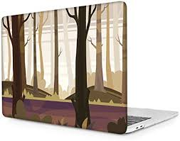 Batianda for MacBook Air 11 inch <b>Case</b> Forest Pattern Plastic <b>Hard</b> ...